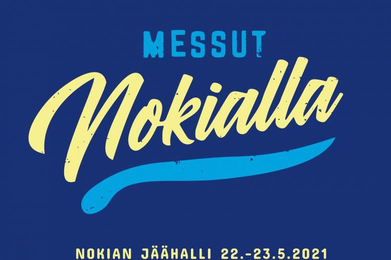Messut Nokialla, Nokian jäähalli 22.-23.5.2021 -tapahtuman logo